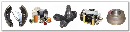 common forklift parts