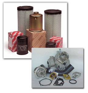 essential forklift parts