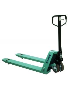 "CPII Pallet Truck 21""Wx48""L with Poly Wheels"