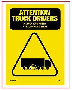 Caution Chock Wheels