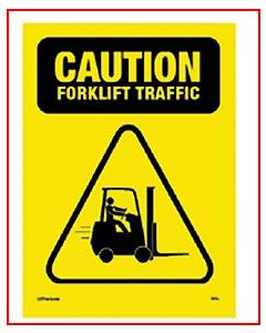 Caution Forklift Traffic