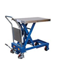 "Hydraulic Elevating Lift Carts 20"" x 35.5"", 50.75"""
