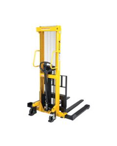 Manual Hydraulic Hand Pump Stackers Fixed Forks