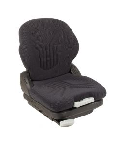 "SY1560 GRAMMER Suspension Forklift Seat Cloth (Crown, Hyster) 22 18/25""Hx18 1/2""Wx22 13/100""D"