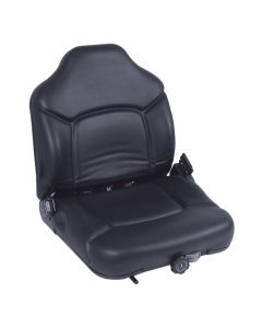 """SY1575 MICHIGAN Suspension Forklift Seat Vinyl (Clark, Hyster, Yale) 22 3/4""""Hx19 1/2""""Wx19 1/2""""D Pic1"""