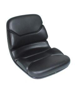 "SY1733 SEARS Forklift Seat Vinyl (Cat, Mitsubishi) 18""Hx18 1/2""Wx22""D"