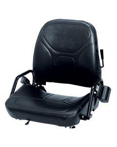 "SY1790 WISE Forklift Seat Vinyl (Crown, Komatsu, Linde, TCM) 23 1/2""Hx20""Wx22""D"