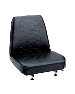 "SY1800 SUPERIOR Forklift Seat Vinyl (Barrett, Cat, Hyster, Linde, Mitsubishi, Nissan, TCM, Toyota, Yale) 17 1/2""Hx18 3/4""Wx21""D"