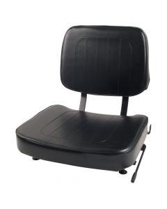 "SY1814 SUPERIOR Forklift Seat Vinyl (Barrett, Caterpillar, Hyster, Mitsubishi, Toyota) 18""Hx18""Wx22""D"