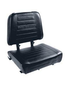 "SY1838 SUPERIOR Basic Forklift Seat Vinyl (Caterpillar, Hyster, Mitsubishi, Toyota) 20""Hx19 1/2""Wx17""D"