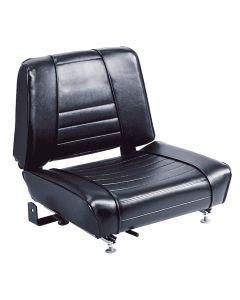 """SY1868 WISE Forklift Seat Vinyl (Cat, Komatsu, Mitsubishi, Toyota, Yale) 18""""Hx20""""Wx19 1/2""""D"""