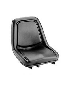 "SY1901 MICHIGAN Forklift Seat Vinyl (Clark, Cat, Hyster, Mitsubishi, Toyota) 17 1/2""Hx18""Wx22 1/2""D"
