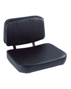 "SY1905 WISE Forklift Seat Vinyl (Clark, Cat, Hyster, Mitsubishi, Toyota, Yale) 16 1/2""Hx21""Wx21""D"
