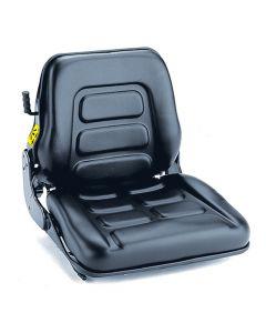 """SY1990 GRAMMER Suspension Forklift Seat Vinyl (Clark, Crown, Hyster, Jungheinrich, Komatsu, Linde, Nissan, Raymond, Toyota, Yale) 19 37/100""""Hx18 9/10""""Wx20 2/25""""D"""