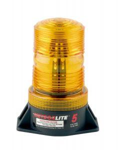 LED Amber Strobe Light- High Profile- 12-80V