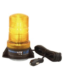 LED Strobe Light - Amber 12-24V
