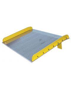 Aluminum Dockboard with Steel Curbing