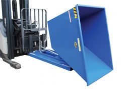 Self-Dumping Steel Hoppers with Bumper Release