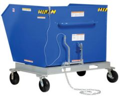 Portable Steel Hoppers- ForkliftAccessories