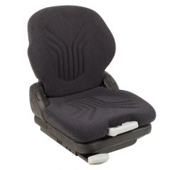 """SY1560 GRAMMER Suspension Forklift Seat Cloth (Crown, Hyster) 22 18/25""""Hx18 1/2""""Wx22 13/100""""D"""