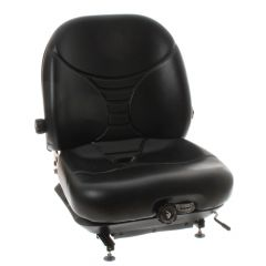 """SY1594 MICHIGAN Universal Suspension Forklift Seat Vinyl with Seat Switch 23 3/5""""Hx18 3/20""""Wx18 11/25""""D"""