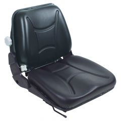 "SY1660 TOTAL SOURCE Suspension Forklift Seat Vinyl (Clark, Crown, Hyster, Jungheinrich, Linde, Nissan, Toyota, Yale) 19 37/100""Hx18 9/10""Wx22 2/25""D"