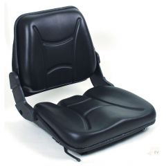 """SY1669 TOTAL SOURCE Suspension Forklift Seat Vinyl (Clark, Crown, Hyster, Jungheinrich, Komatsu, Linde, Nissan, Raymond, Toyota, Yale) 19 37/100""""Hx18 9/10""""Wx20 2/25""""D (SY1669)"""