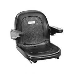 "SY1755 IOWA Universal Forklift Seat Vinyl 19 1/4""Hx17 1/2""Wx20 1/4""D"