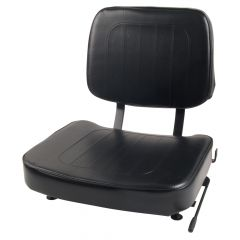 "SY1811 SUPERIOR Forklift Seat Vinyl (Barrett, Caterpillar, Mitsubishi, Toyota, Yale) Vinyl 18""Hx18""Wx22""D"