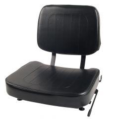 "SUPERIOR Forklift Seat Vinyl (Barrett, Cat, Hyster, Mitsubishi, Toyota) 18""Hx18""Wx22""D (SY1812)"