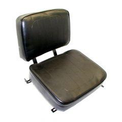 "SY1813 SUPERIOR Forklift Seat Vinyl (Barrett, Cat, Hyster, Mitsubishi, Nissan, Toyota) 18""Hx18""Wx22""D"