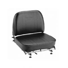 """SY1817 SUPERIOR Forklift Seat Vinyl (Crown, Cat, Hyster, Mitsubishi, Nissan, TCM, Toyota, Yale) 20 1/4""""Hx20""""Wx17 5/8""""D"""