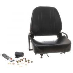 "WISE Forklift Seat Vinyl (Crown, Cat, Hyster, Komatsu, Linde, Mitsubishi, Nissan, TCM, Toyota, Yale) 20 1/2""Hx23 1/2""Wx22""D (SY1866)"