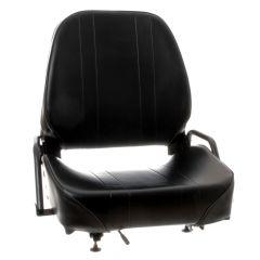 "WISE Forklift Seat Vinyl (Crown, Cat, Hyster, Komatsu, Linde, Mitsubishi, Nissan, TCM, Toyota, Yale) 20 1/2""Hx23 1/2""Wx22""D (SY1866A)"