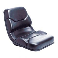 "SY1918 MICHIGAN Universal Forklift Seat Vinyl (Toyota) 17 1/2""Hx18 1/2""Wx22 3/4""D"