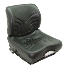 """SY1988S GRAMMER Suspension Forklift Seat Vinyl with Seat Switch (Clark, Hyster, Jungheinrich, Yale) 20 2/25""""Hx18 1/2""""Wx21 13/20""""D"""
