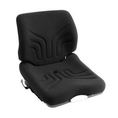 """SY1989S GRAMMER Suspension Forklift Seat Cloth with Seat Switch 20 2/25""""Hx18 1/2""""Wx21 13/20""""D"""